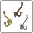 Bathroom Hardware - Robe Hooks
