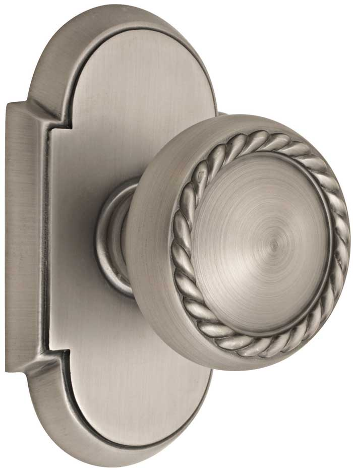 Beau Emtek Products Inc Emtek Brass Rope Style Door Knob
