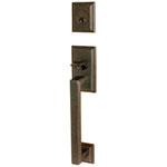 Emtek Hamden Entry Door Handle Set in Oil Rubbed Bronze