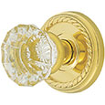 Emtek Astoria Clear Crystal Door Knob