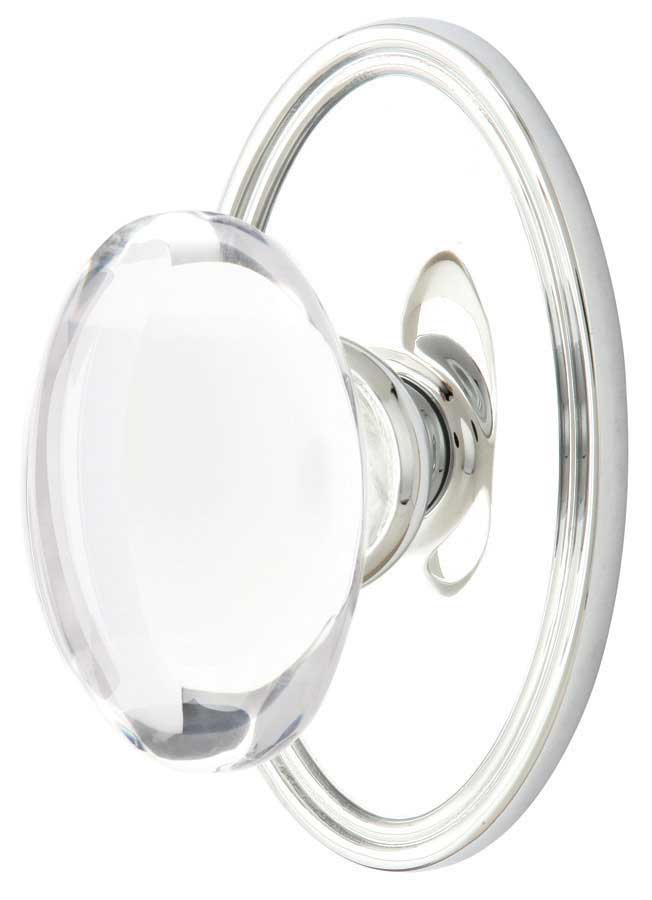 Emtek Hampton Crystal Door Knob - Shop Glass Door Knobs at ...
