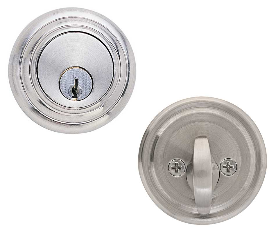 Emtek Low Profile Brass Deadbolt Door Lock - Shop Security Locks at ...