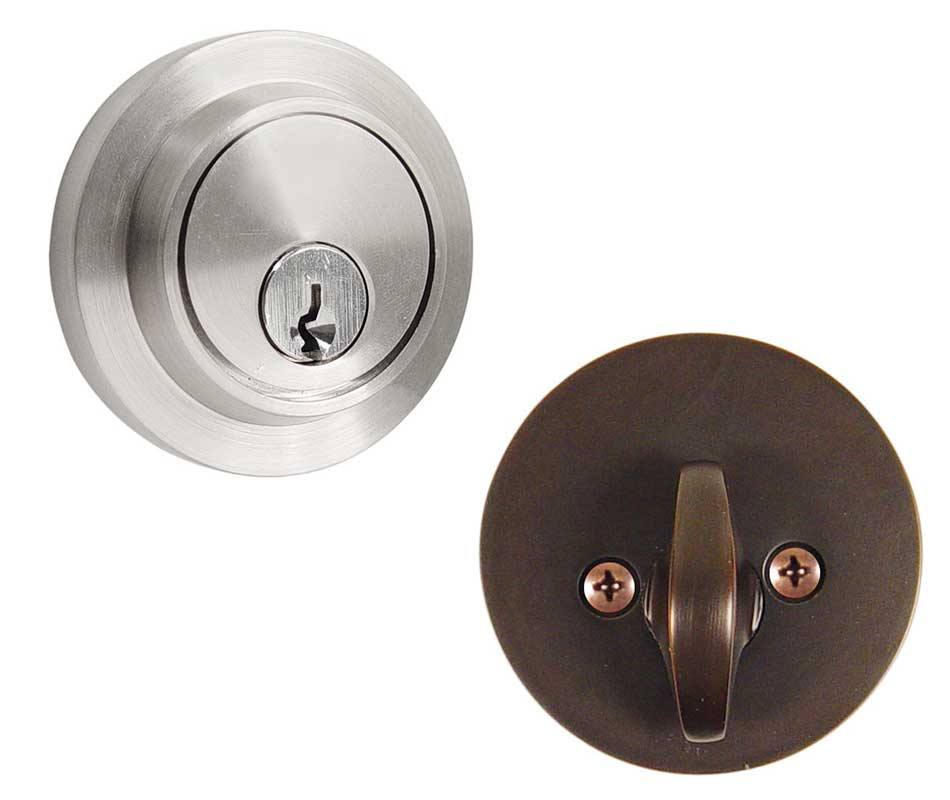 Emtek Modern Brass Deadbolt Door Lock