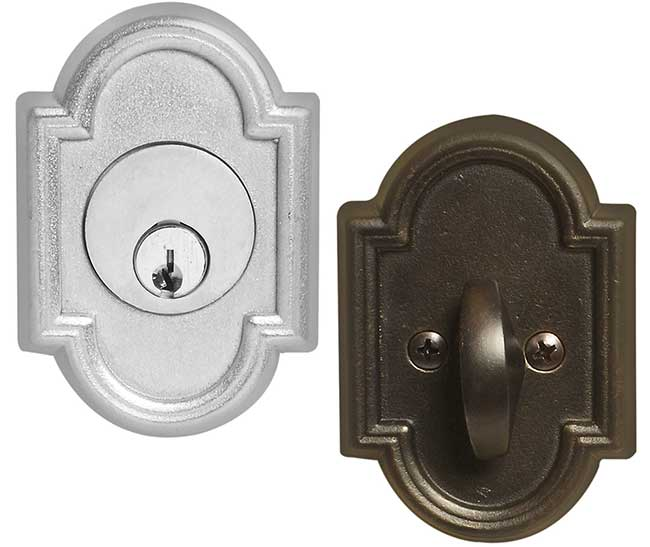 Emtek Style 11 Bronze Deadbolt Door Lock Shop Security