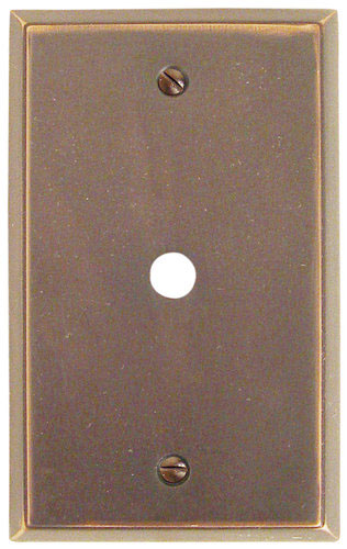 Emtek colonial cable brass outlet cover shop home decor for Outlet colonial