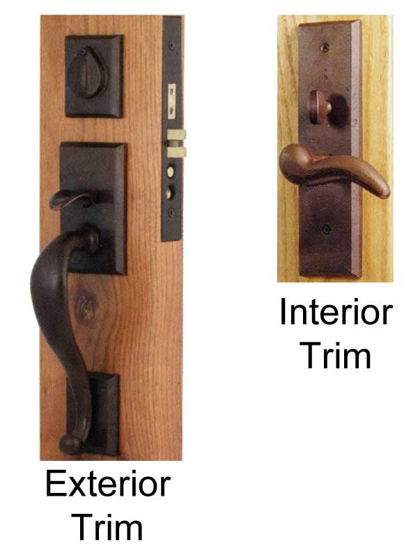 Mortise Interior Door Hardware Pair Of Craftsman Door