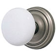 Emtek Ice White Porcelain Door Knob