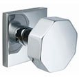 Emtek Octagon Stainless Steel Door Knob