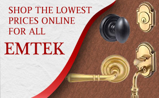Shop Emtek Brand Door Hardware at the Lowest Prices Online