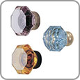 Cabinet Hardware - Crystal Cabinet Knobs