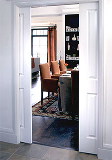 Example of a Pocket Door configuration