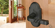 "Rustic Style Wrought Steel Emtel ""San Carlos"" Lever Door Handle"