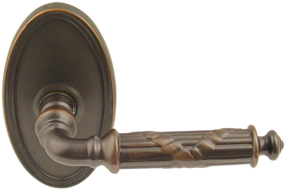 Emtek Ribbon Amp Reed Brass Lever Door Handle Shop Door