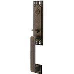 View Arts & Crafts Entry Door Handle Lock Sets