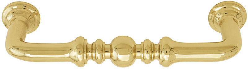 Emtek Spindle Brass Cabinet Pull - Shop Cabinet Hardware at ...