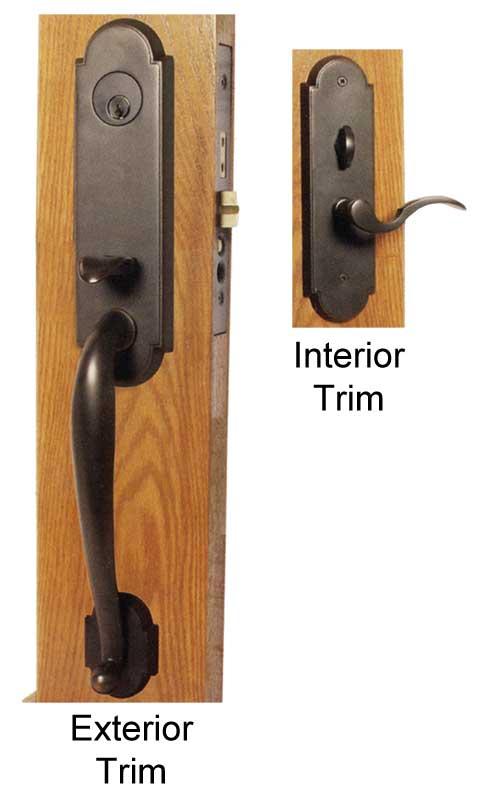 Emtek Charleston Brass Mortise Lock Shop Locks Hardware