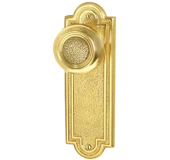 Emtek Belmont 7 1 2 Quot Brass Door Handle Plate Shop