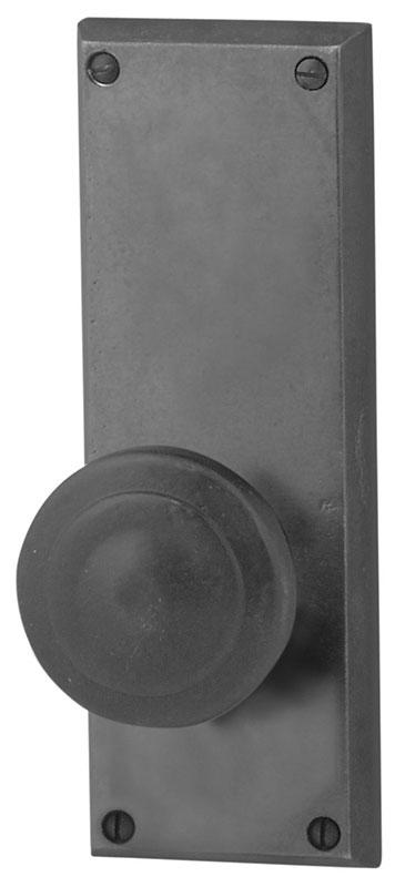 Emtek Rectangular 7 Quot Sandcast Bronze Door Handle Plate