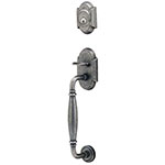 View Wrought Steel Entry Door Handle Lock Sets