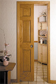 Sample Pocket Door